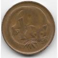1 цент. 1970 г. Австралия. Опоссум. 7-3-593