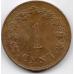 1 цент. 1977 г. Мальта. 7-5-296
