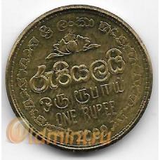 1 рупия. 2009 г. Шри-Ланка. 6-1-824