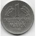"1 марка. 1968 г. Германия. ""F"". 6-4-558"