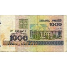 Беларусь. 1000 рублей. 1998 г. Б-2209