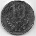 10 колон. 1983 г. Коста-Рика. 18-3-309