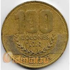 100 колон. 2000 г. Коста-Рика. 18-3-311