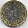 1 боливар. 2007 г. Венесуэла. 3-9-88