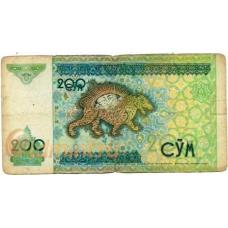 Узбекистан. 200 сум. 1997 г. Б-2236