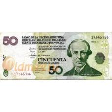 Аргентина. 50 песо. 2006 г. LECOP. Б-2237
