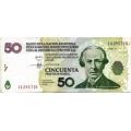 Аргентина. 50 песо. 2006 г. LECOP. Б-2238