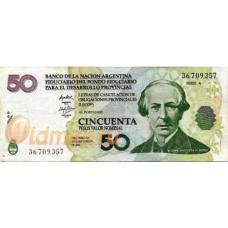 Аргентина. 50 песо. 2006 г. LECOP. Б-2239