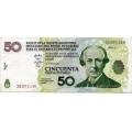 Аргентина. 50 песо. 2006 г. LECOP. Б-2240