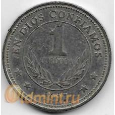 1 кордоба. 1997 г. Никарагуа. 3-0-69