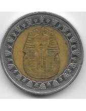 1 фунт. 2010 г. Египет. Тутанхамон. 2-6-63
