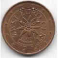 2 евроцента. 2007 г. Австрия. 1-3-112