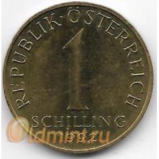 1 шиллинг. 1992 г. Австрия. Эдельвейс. 14-1-912