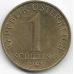 1 шиллинг. 1995 г. Австрия. Эдельвейс. 14-1-913