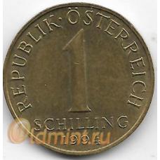 1 шиллинг. 1994 г. Австрия. Эдельвейс. 14-1-914