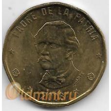 1 песо. 2008 г. Доминиканская Республика. 14-1-917