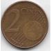 2 евроцента. 2004 г. Бельгия. Король Альберт II. 14-3-460