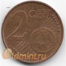 2 евроцента. 2007 г. Австрия. 14-3-462