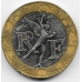 10 франков. 1991 г. Франция. 5-1-535