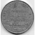 5 франков. 2005 г. Французская Полинезия. 16-3-771