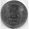 1 рупия. 2003 г. Индия. 18-5-405