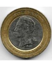 1 боливар. 2007 г. Венесуэла. Симон Боливар. 1-6-306