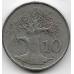 10 центов. 1980 г. Зимбабве. Баобаб. 1-6-313