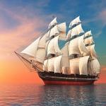 Корабли на монетах Евросоюза