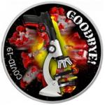 Монета про коронавирус