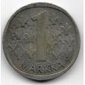 1 Марка. 1965 г. Финляндия. Серебро. 9-3-365