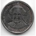 1 доллар. 2008 г. Ямайка. Вильям Александр Бустаманте. 1-4-228