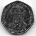 1 доллар. 2006 г. Ямайка. Вильям Александр Бустаманте. 1-4-227