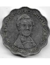 10 долларов. 1999 г. Ямайка. Уильям Гордон. 1-5-289