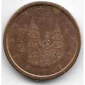 1 евроцент. 2015 г. Испания. 11-2-405