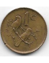 1 цент. 1983 г. ЮАР. Капские воробьи. 10-3-810