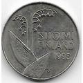 10 пенни. 1993 г. Финляндия. Ландыши. 4-1-412