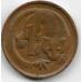 1 цент. 1973 г. Австралия. Опоссум. 20-1-5