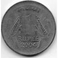 1 рупия. 2004 г. Индия. 20-1-34