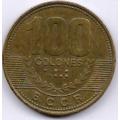 100 колон. 2007 г. Коста-Рика. 20-2-90