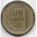 1 новый соль. 2004 г. Перу. 20-2-93
