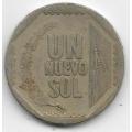 1 новый соль. 2001 г. Перу. 20-3-38