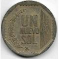 1 новый соль. 2008 г. Перу. 20-3-39