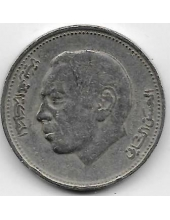 1 дирхам. 1987 г. Марокко. Хасан II. 20-4-103