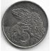 5 центов. 2003 г. Новая Зеландия. Гаттерия. 10-2-696