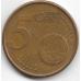 5 евроцентов. 2001 г. Финляндия. 1-2-300