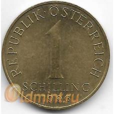 1 шиллинг. 1996 г. Австрия. Эдельвейс. 2-7-120