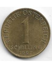 1 шиллинг. 1997 г. Австрия. Эдельвейс. 2-7-121