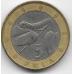 5 пула. 2000 г. Ботсвана. Гусеница на ветке. 6-3-618