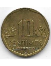 10 сентимо. 2015 г. Перу. 6-3-623