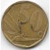 50 центов. 1997 г. ЮАР. Стрелитция королевская. 6-3-633
